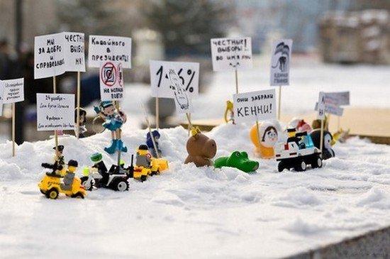 l'engagement des legos... dans c'est renversant ! manif_lego34