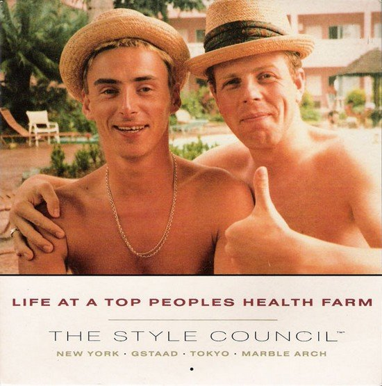 le style estival... dans mon été permanent the-style-council-life-at-a-top-peoples-health-farm-19881